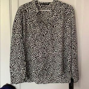 Blouse leopard print